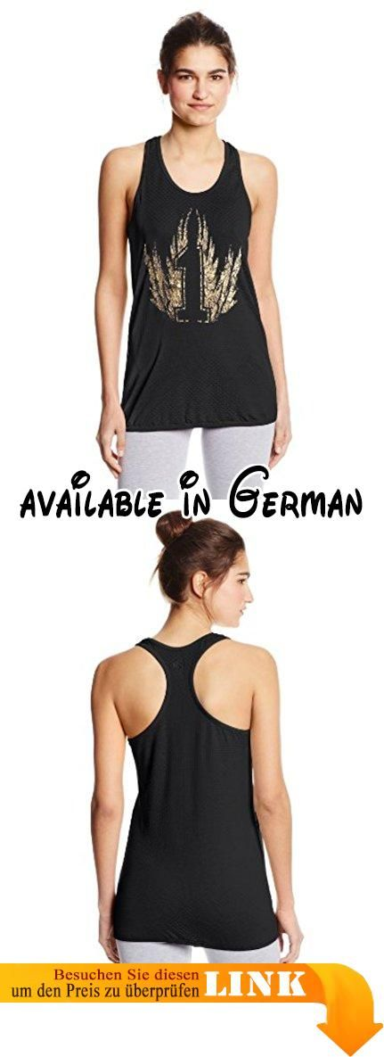 Zumba Fitness Damen One More Dance Loose Tank Top, Sew Black, S, Z1T00540.  #Sports #SHIRT