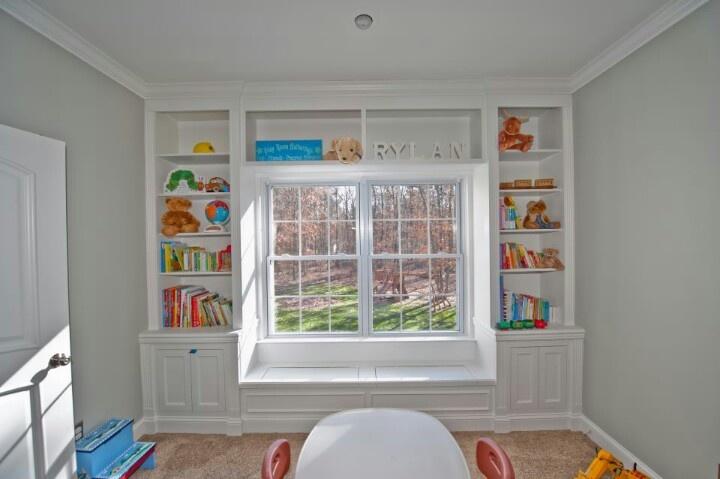 Bay Window Bookshelfwant
