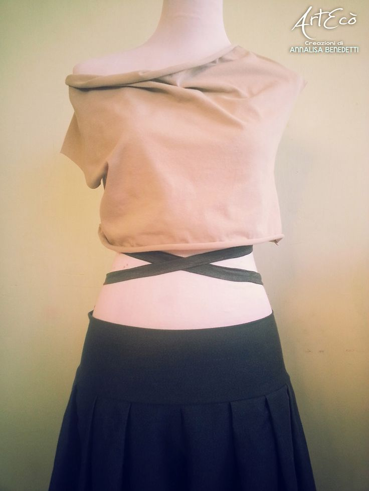 ECO FASHION: Top Cotone Bio e Pantalone Canapa-Cotone   ArtEcò Creazioni di Annalisa Benedetti