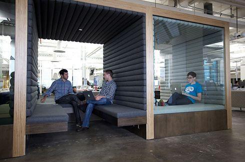 Square à San Francisco en Californie. | 22 magnifiques bureaux qui vont vous faire mourir de jalousie