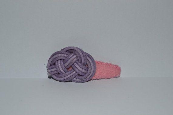 Haarclipje paars op Etsy, 2,00€