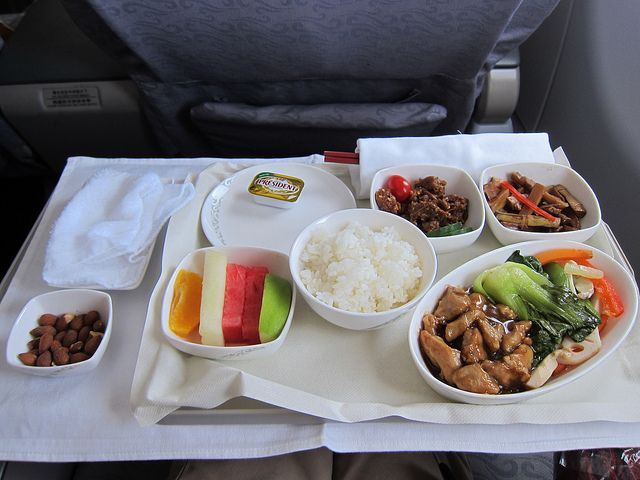 From bland to flavorful in a pinch! Enhance airplane food.