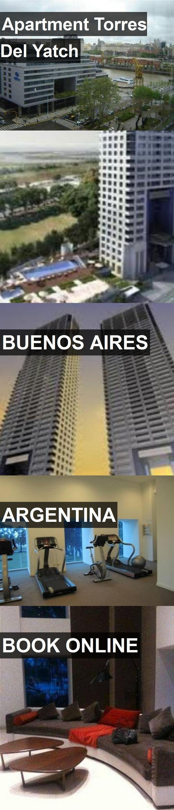 Hotel Apartment Torres Del Yatch in Buenos Aires, Argentina. For more information, photos, reviews and best prices please follow the link. #Argentina #BuenosAires #ApartmentTorresDelYatch #hotel #travel #vacation