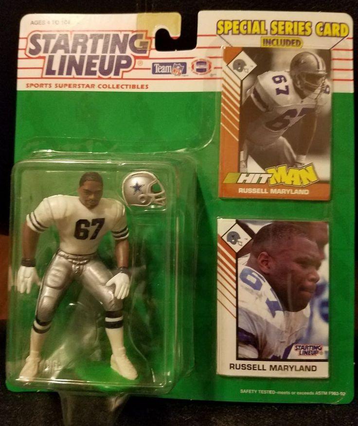 Russell Maryland  DALLAS COWBOYS 1993 NFL Starting Lineup football figure #Startinglineup