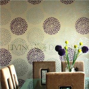 Las plantillas Living Designs son una solución económica y práctica para pintar y decorar paredes, sólo necesitas rodillo, brocha y pintura. Fácil de aplicar y retirar.