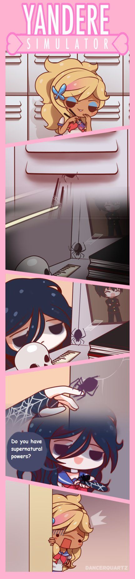 Yandere Comic - Spider-chan by DancerQuartz
