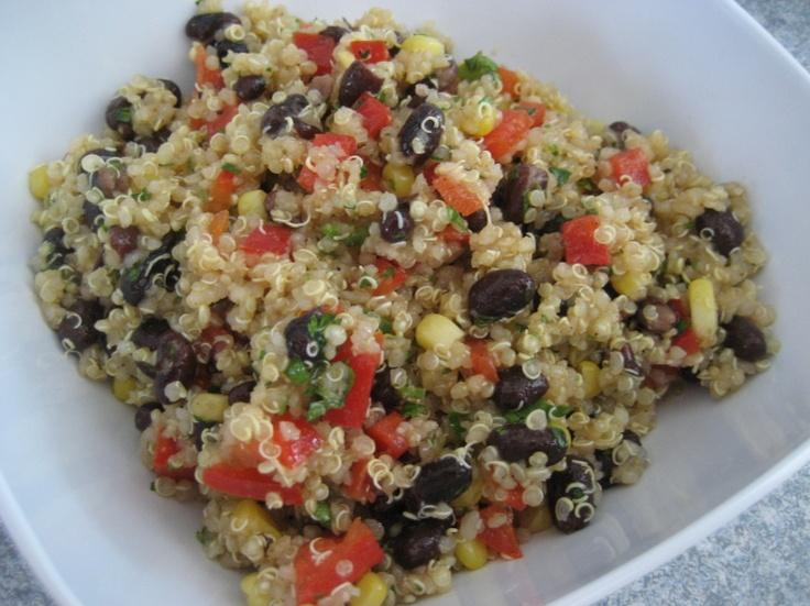 Southwest quinoa salad | Recipe Box | Pinterest