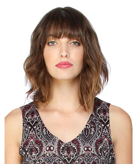looking for new haircut lob with bangs bob with bangs hair 2909