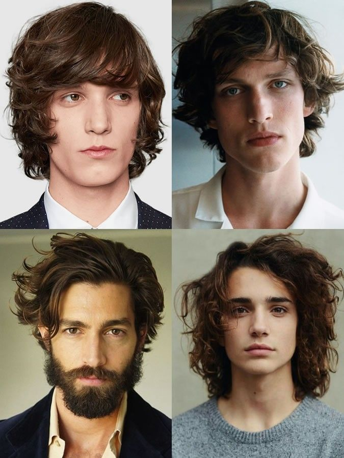 Pin By Euphoric Hair On Mens Long Hairstyles Growing Out Hair Wavy Hair Men Long Hair Styles Men