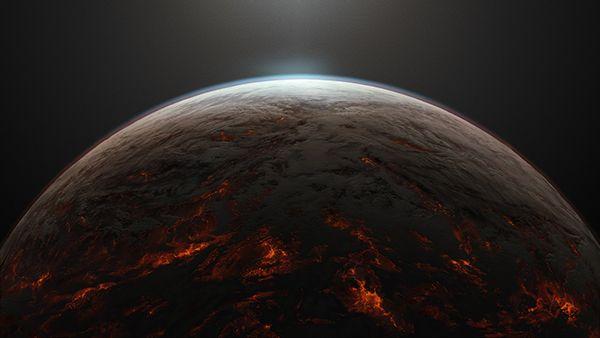 lava planet on Behance