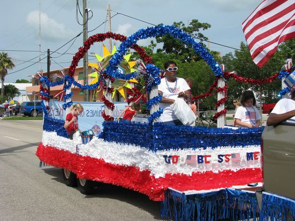 Cheap th of july float decorations awesome fourth