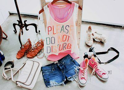 bag, clothes, converse, outfit, pink