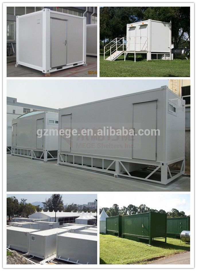 10foot/20foot mobile toilet for festival or wedding, View mobile toilet, OEM Product Details from MEGE Shelters Inc. More information pls contact:info@megeshelters.com