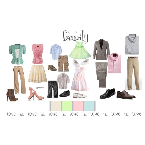 Picture Day Outfits  love is love is love collection:   Easter Version