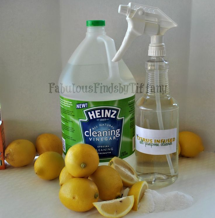 Homemade Citrus Infused All-Purpose Cleaner with Heinz Cleaning Vinegar -- FREE Printable Labels