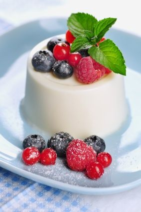 Receta de Mousse de Yogurt Light