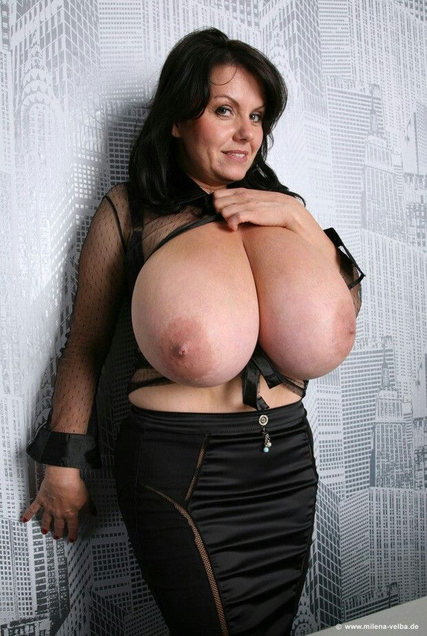 Malena velba with huge tits hanging out of dress