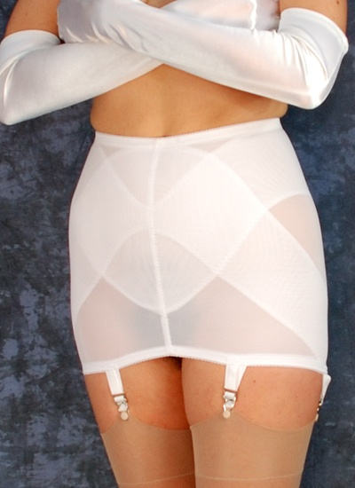 Venus of Cortland OpenBottom Garter Girdle | Wedding | Mieder