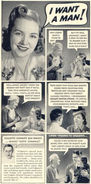 vintage ad wow