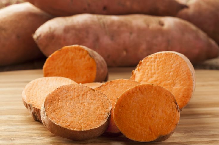 #SweetPotatoes Sweet potatoes may just be your cold-weather fat-burning secret. Sweet potatoes are a great source of fiber, which helps keep you feeling full while burning calories by putting your digestive system to work. And they also contain a hormone that helps regulate your blood sugar.