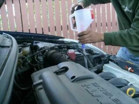 2003 toyota matrix manual transmission fluid