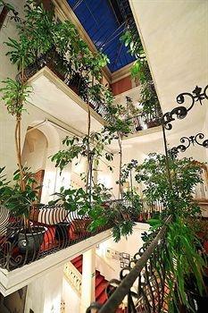 Interior of the Erzherzog Johann Palais Hotel - Graz, Austria
