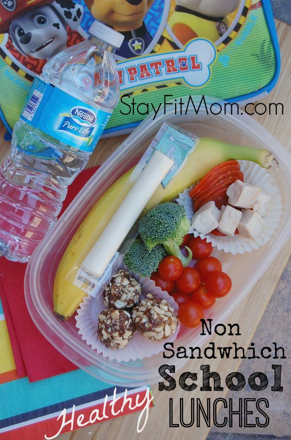 Love switching it up with these non sandwich lunch ideas from StayFitMom.com #PureLifeRippleEffect #ad