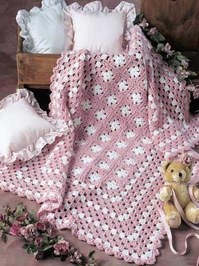 Free Crochet Pattern: Simply Simple Afghan ༺✿Teresa Restegui http://www.pinterest.com/teretegui/✿༻
