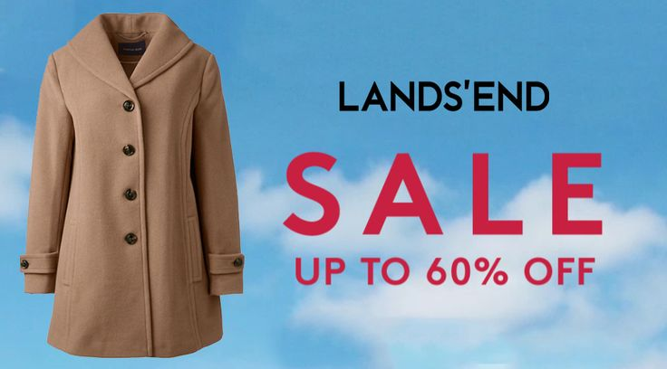 Online Offers: Sale 100s of styles added Up to 60% #Off.  Store : #LandsEnd Scope: Entire Store   Ends On : 03/04/2017  Get more deals: http://www.geoqpons.com/Lands-End-coupon-codes  Get our Android mobile App: https://play.google.com/store/apps/details?id=com.mm.views    Get our iOS mobile App: https://itunes.apple.com/us/app/geoqpons-local-coupons-discounts/id397729759?mt=8