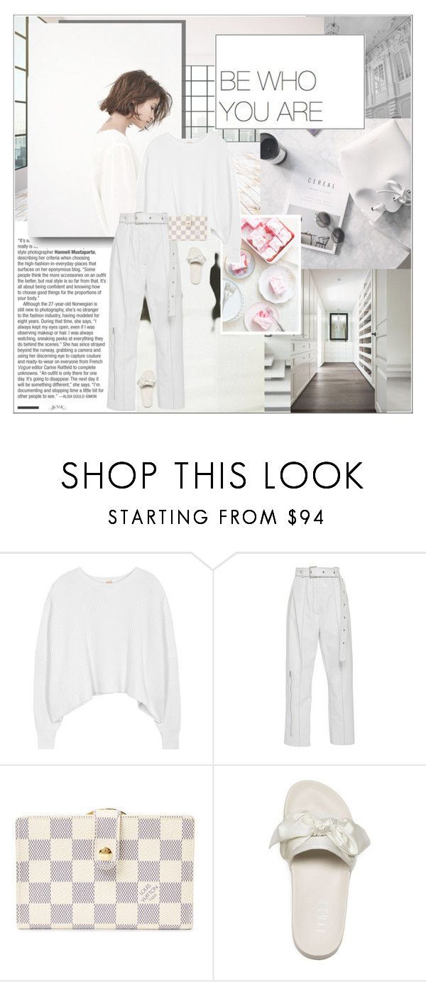 """""""Lazy Sundays."""" by lascaux ❤ liked on Polyvore featuring Free People, Louis Vuitton and Puma"""