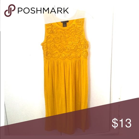 Gorgeous mustard colored dress! Gorgeous mustard colored dress! Great for weddings, office, any occasion really! Make an offer now! Dresses Mini