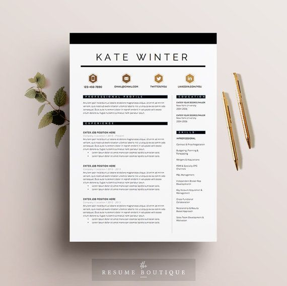 266 best First for 17 images on Pinterest Cards, Colors and - impressive resume templates