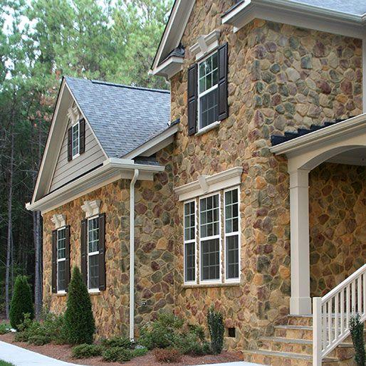 Heritage Shenandoah Fieldstone Interior Faux Stone Panels Sample Home Home