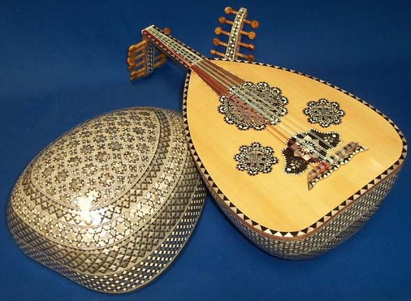 The Oud is a pear-shaped string instrument commonly used in North Africa (Chabbi and Andalusian) and Middle Eastern music.