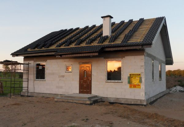 Stan surowy  #budowa #projekt #dom
