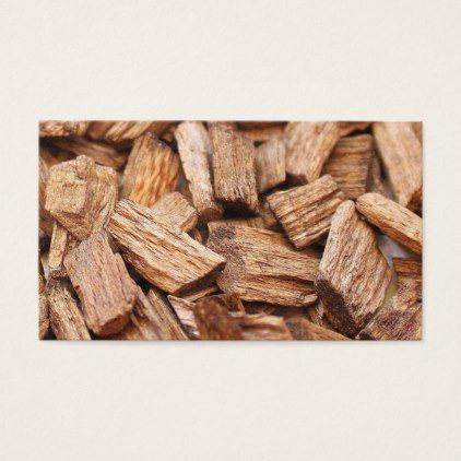 #Stack of pieces of dry woods of different sizes business card - #office #gifts #giftideas #business