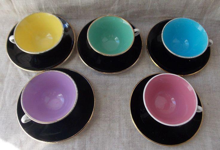 ANCIEN SERVICE A CAFE DIGOIN ANNEE 50/60   Céramiques, verres, Céramiques françaises, Digoin   eBay!