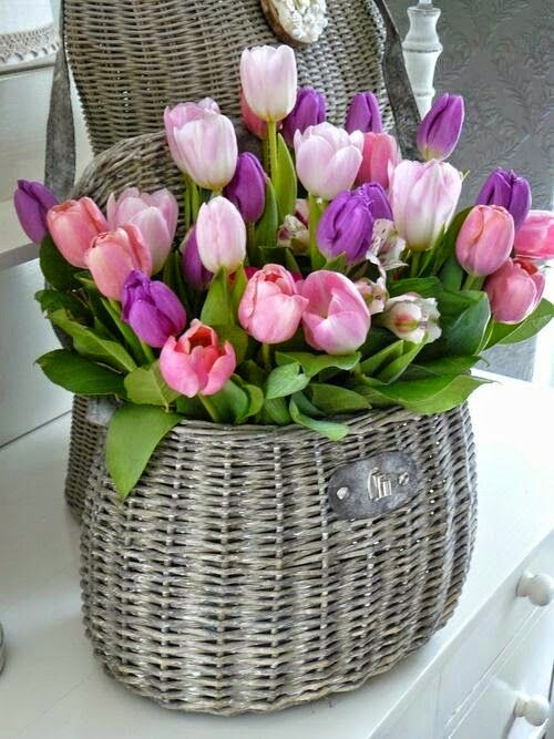Things I Love About: Tulip Basket