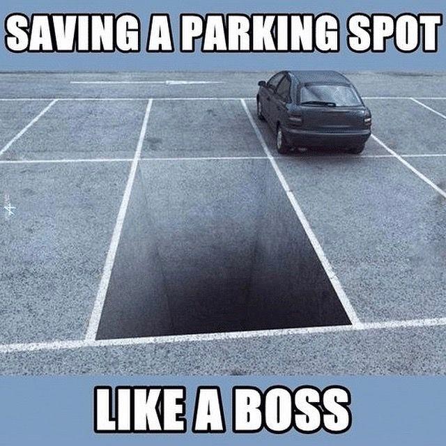 Parking Meme Parking Spot Painting Parking Lot Painting Senior Year Things