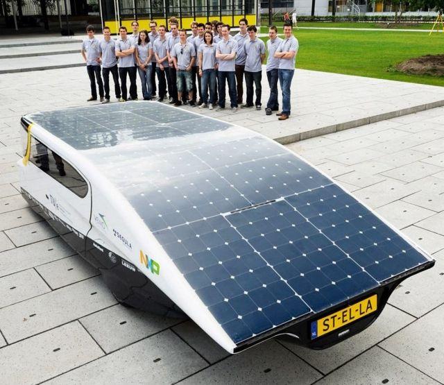 First Solar-powered Family car (1)