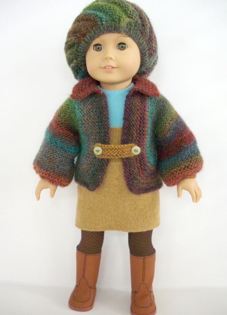 Knit And Crochet Patterns For 18 Inch Dolls : 1000+ images about DOLL CROCHET & KNIT on Pinterest American girl croch...