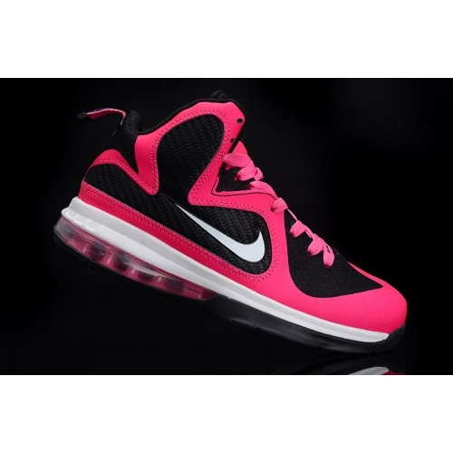 Nike LeBron IX 9 Womens Basketball Shoes Pink Black