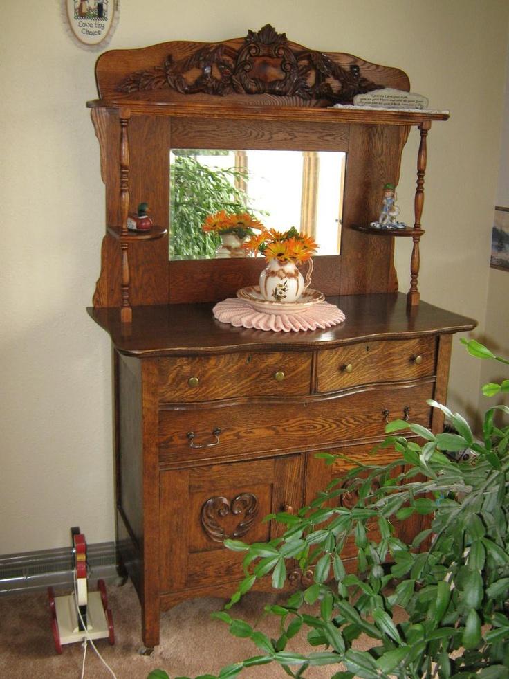 Antique Buffet Top In 2019 Antique Buffet Furniture