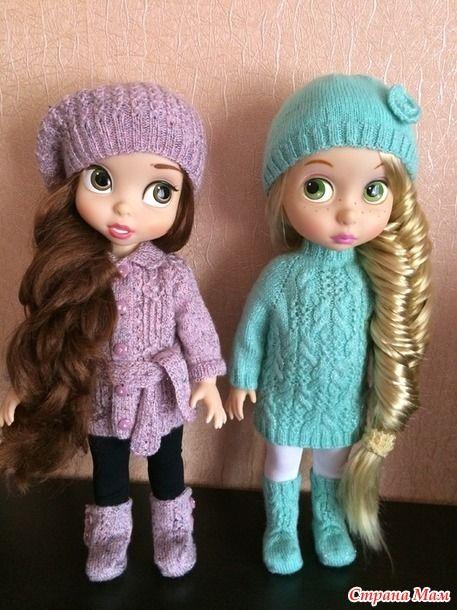 Как и обещала, показываю своих красавиц!  Обе куколки из самой первой серии аниматоров.