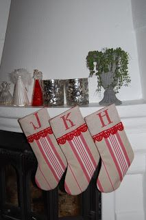 Englemor: Julestrømper  Christmas stockings