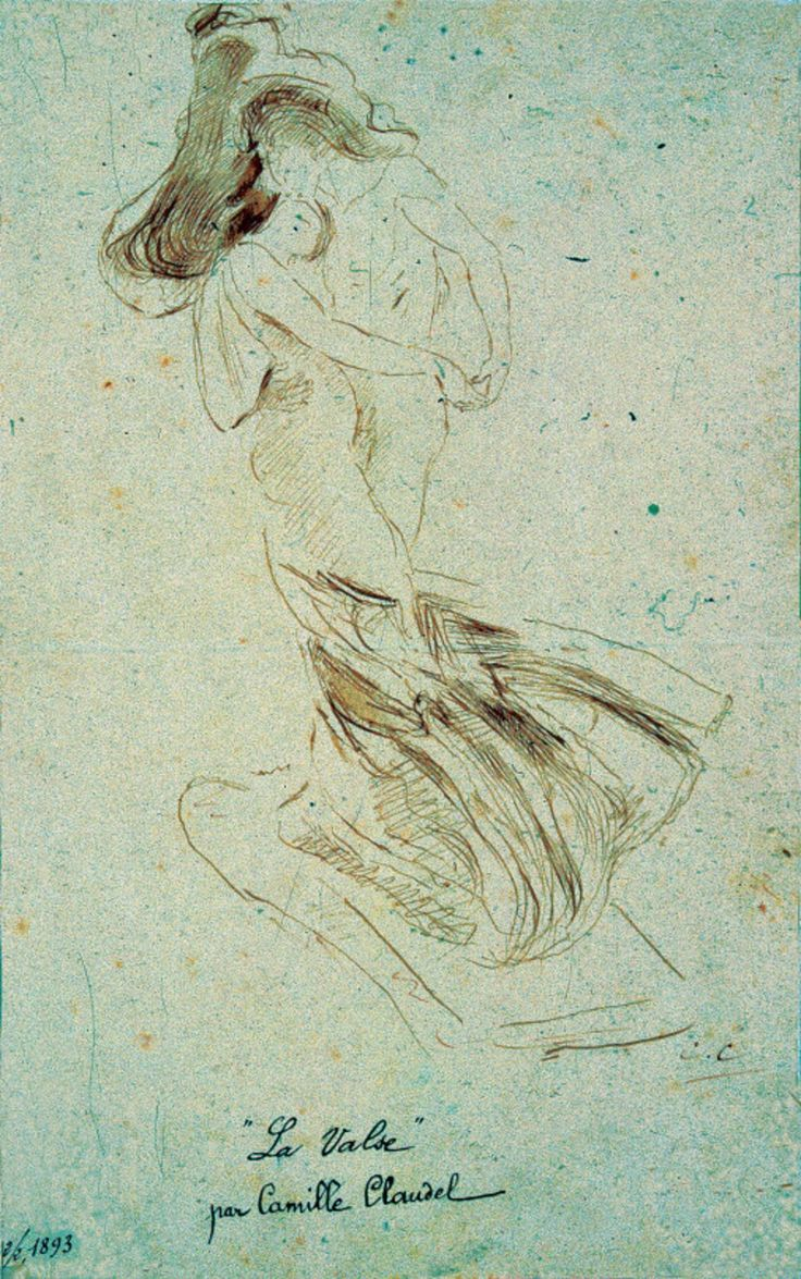 Camille Claudel - La Valse, 1893)