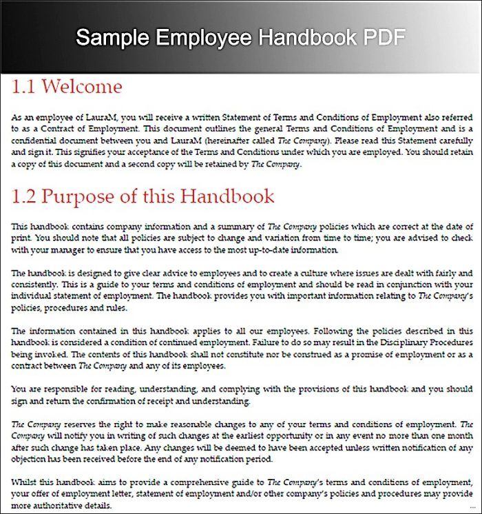 The 25+ best Employee handbook ideas on Pinterest Onboarding new - employee manual template