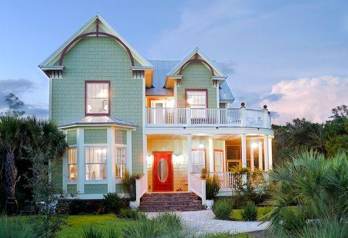 <3: Red Doors, Rosemary Beaches, Dreams Home, Beaches House, Anna Verandas, Beach Houses, Dreams House, Ocean View, Beaches Cottages