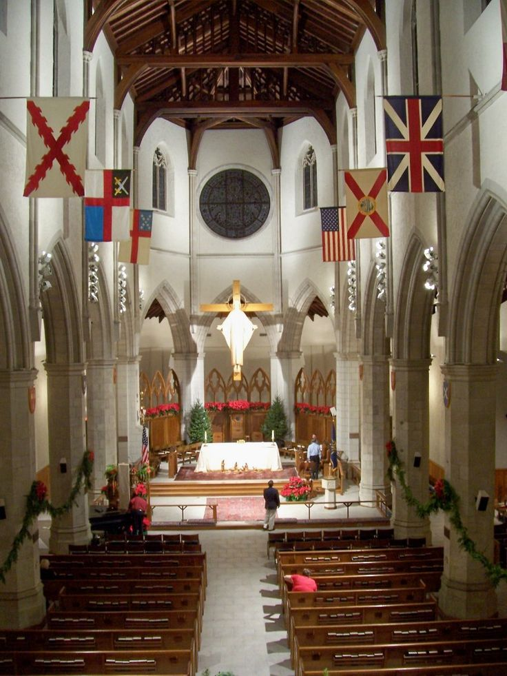 Cathedral Church Of St Luke At Orlando Fl Central