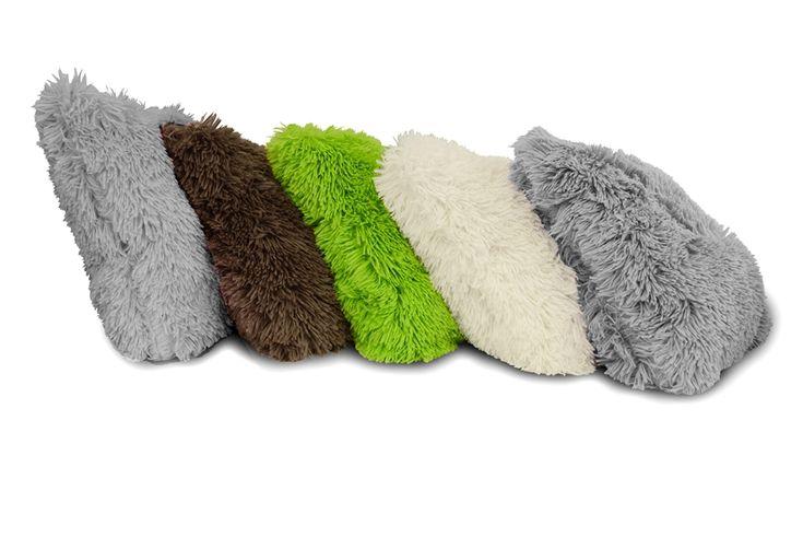 Chlupaté povlaky na polštáře